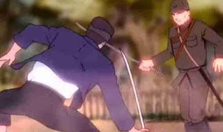 film animasi trailer Tikam Samurai
