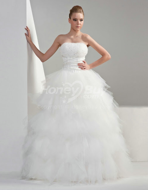 Macys women dresses women dresses for Short fluffy wedding dresses