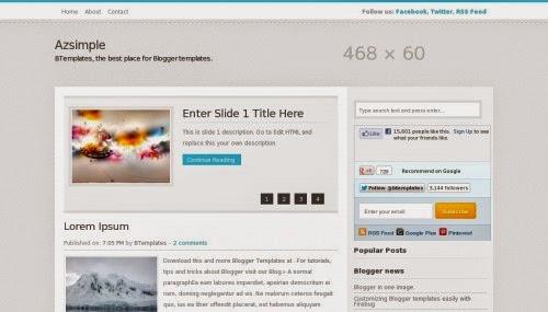 Blogger Teması, Blogger Theme