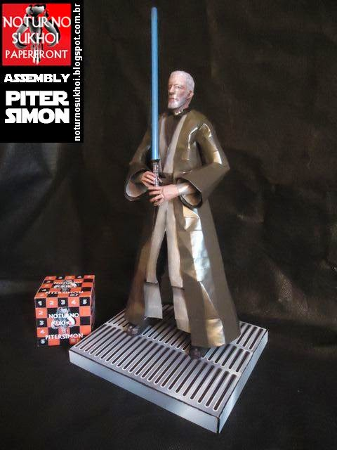 Star Wars Ben Kenobi Papercraft