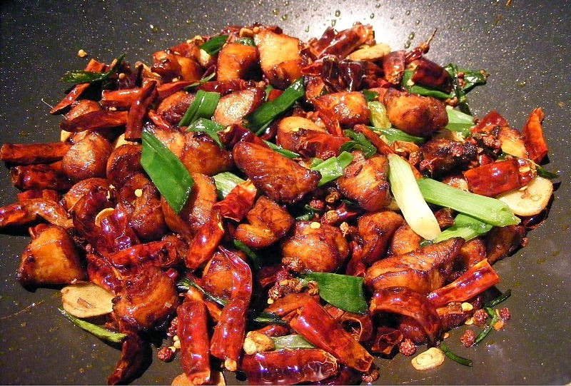 Recipes Damage In The Kitchen: Szechuan Cuisine: Kung Pao Chicken
