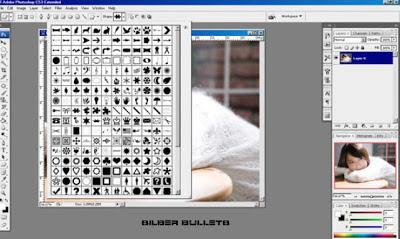 gambar : Custom shape tool