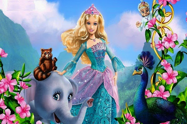 Regarder un film de barbie princesse de l le merveilleuse - Barbie en princesse ...