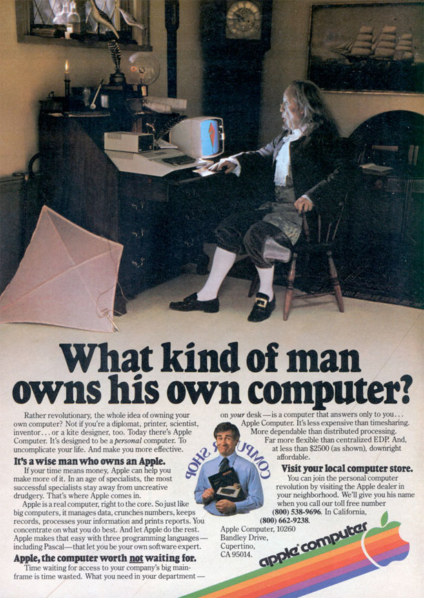 "Used Apple Computers >> Advertising: ""The best way to predict the future is to ..."