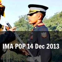IMA Passing Out Parade 14 Dec 2013
