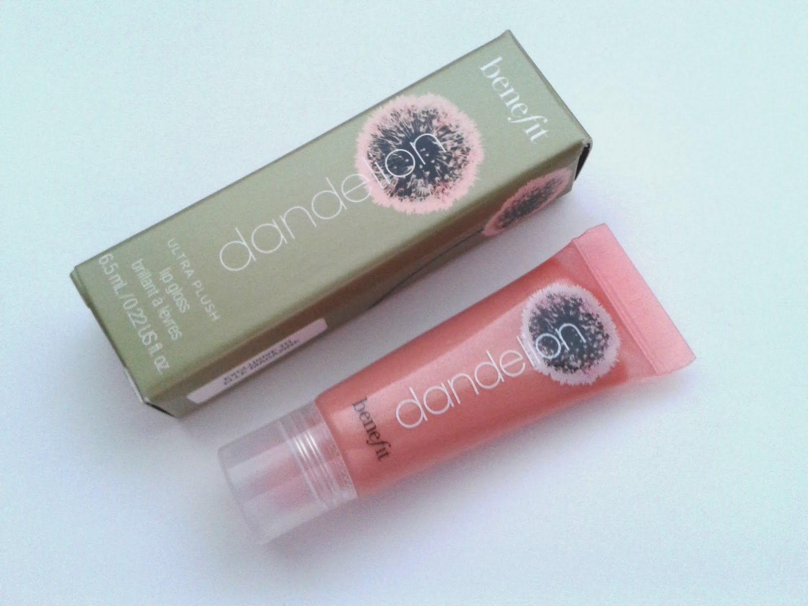 Benefit Dandelion Ultra Plush Lip Gloss Review