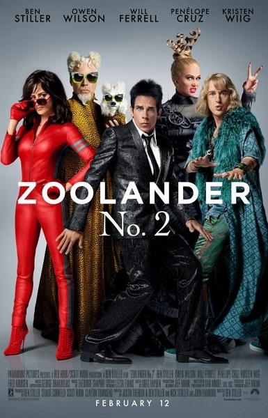Film Zoolander 2 2016 Bioskop