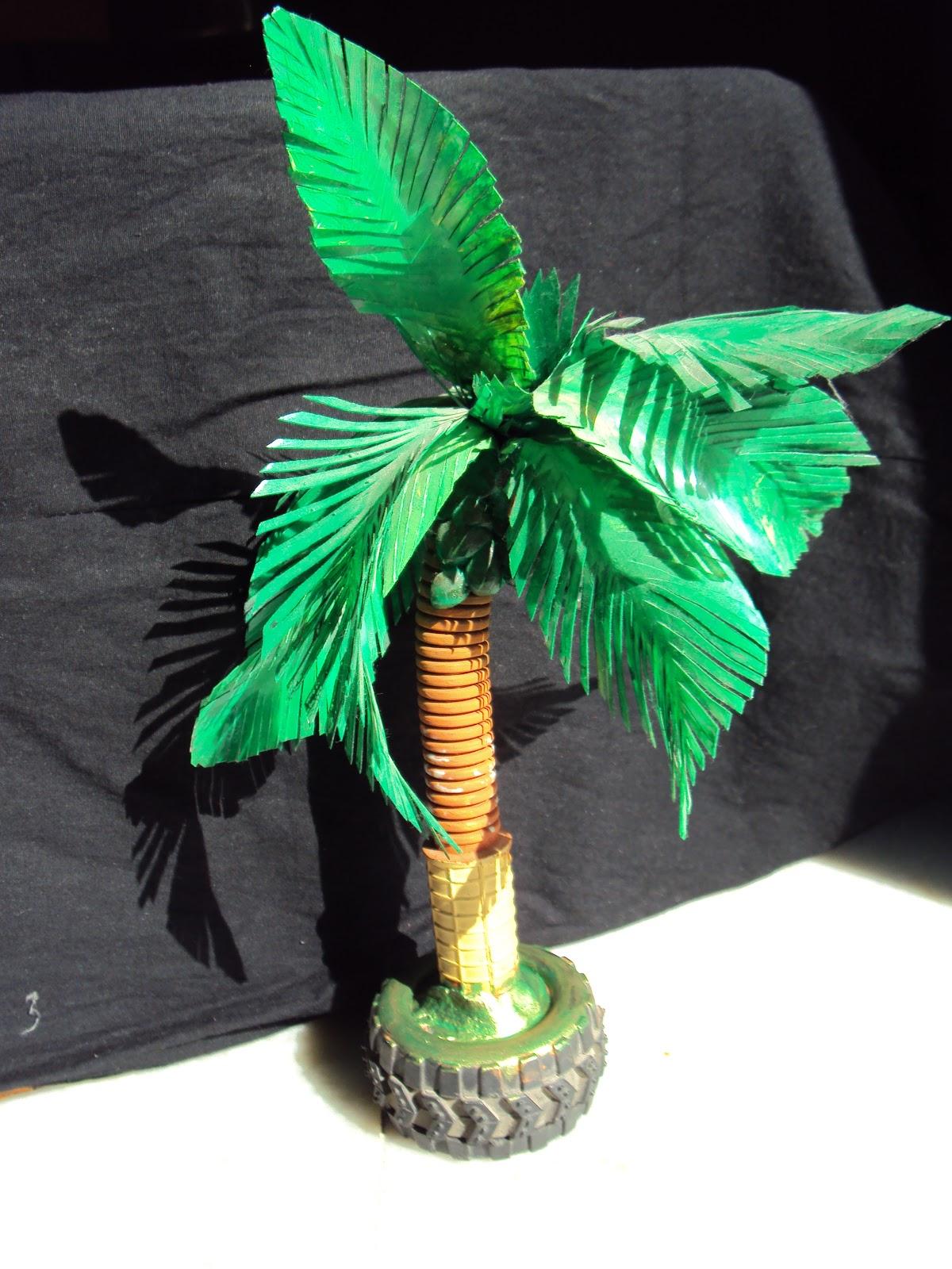 Tropical Rainforest Coconut Tree