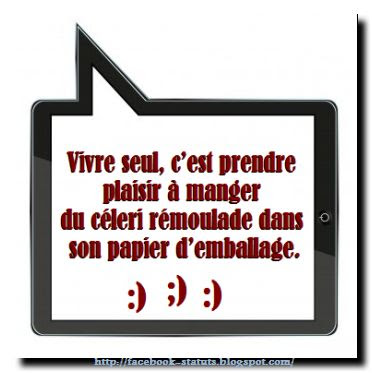 Citation drole facebook