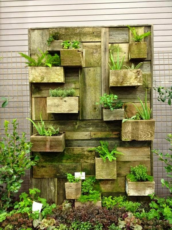 yo recomiendo mezclar diferentes especies siguiendo la del diseo del mueble podis poner plantas con ramas y hojas colgantes