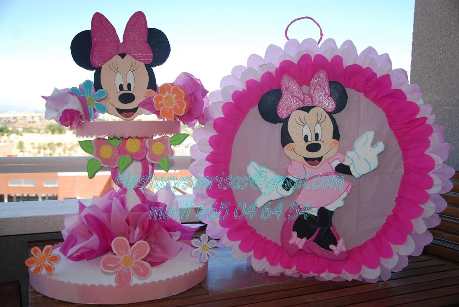 Minnie Decoraciones Para Fiestas ~ Decoraciones Para Fiestas De Minnie Mouse