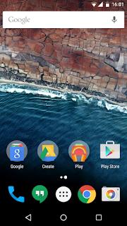 Tampilan Android 6.0 Marshmallow