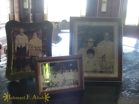 Old photos of presidents who visited Agunaldo Shrine