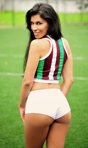 Karyne Marcello - Bela da torcida do Fluminense Football Club (2014)