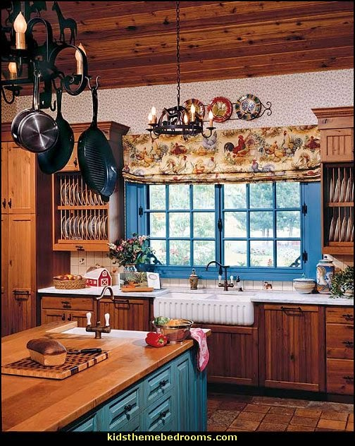 Decorating theme bedrooms maries manor french cafe for Small country kitchen decorating ideas