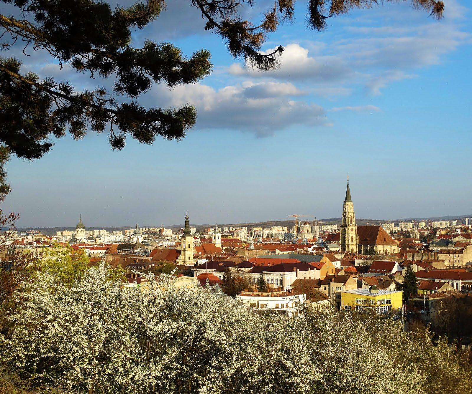 Primăvara la Cluj