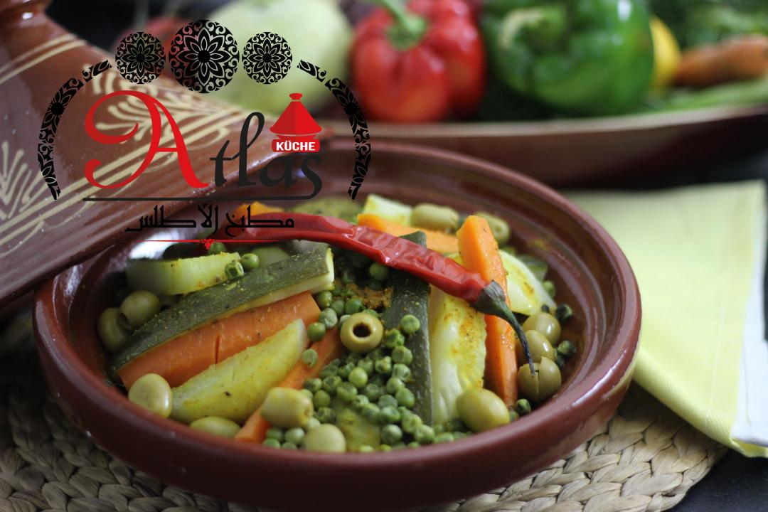 Tajine Mit Gemuse Vegetarisch Atlas Kuche