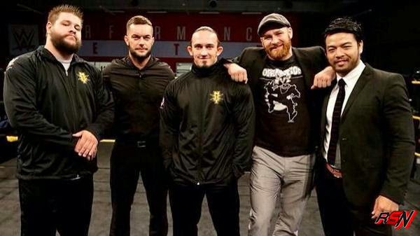 Prince Devitt And Kevin Steen at the WWE Performance Center.