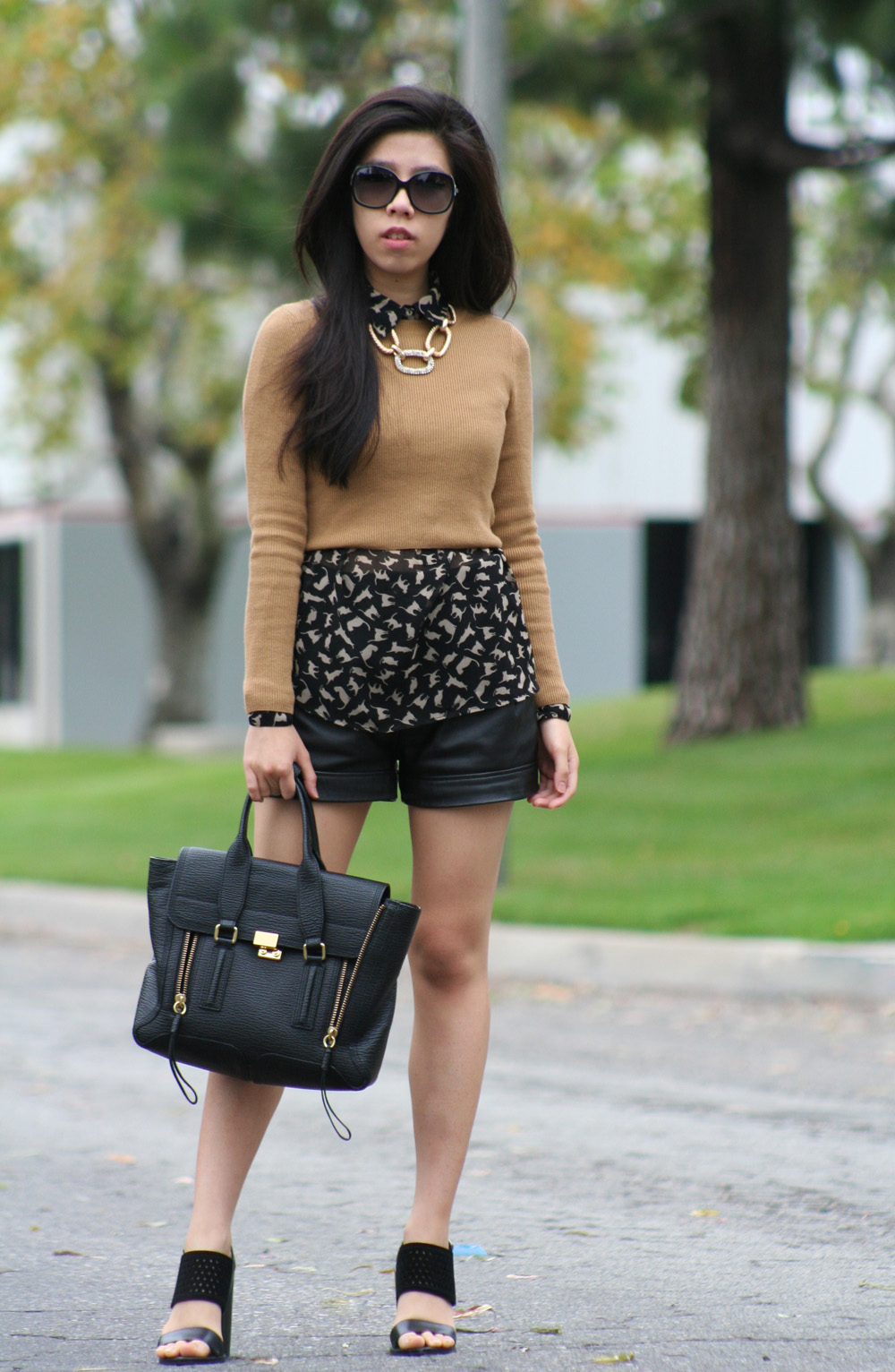 how to wear a crop top during fall