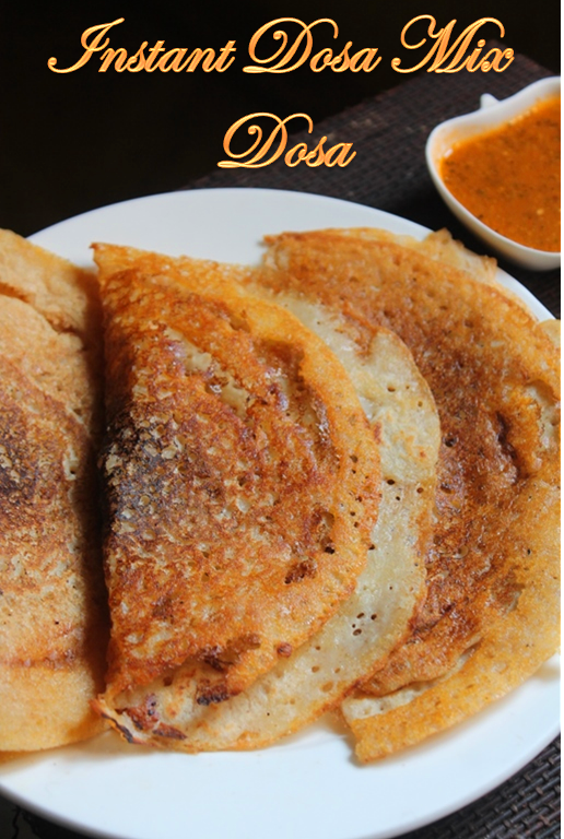 how to make instant dosa mix powder