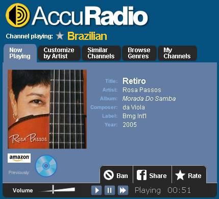 musique brésilienne en ligne
