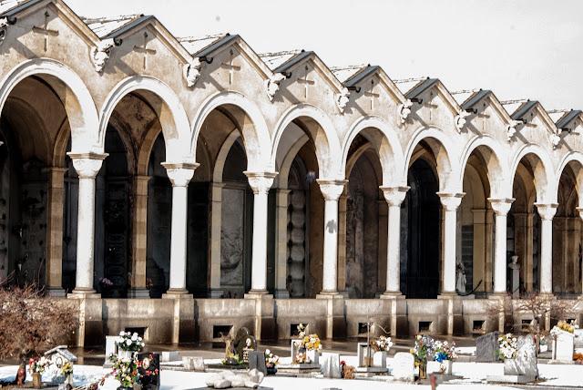 Portici Cimitero Monumentale, Torino