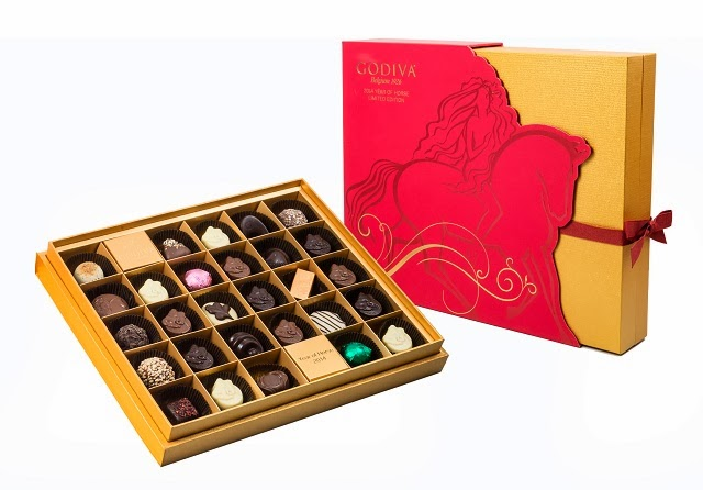 2014 Chinese New Year Chocolate Gift Box 28pcs.