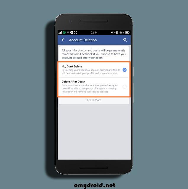 Cara Mewariskan Facebook Kepada Orang Lain