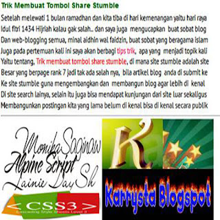 merapikan tulisan blog