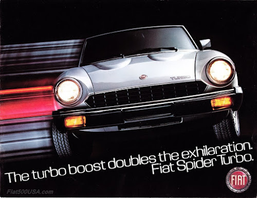 1981 Fiat Spider 2000 Turbo