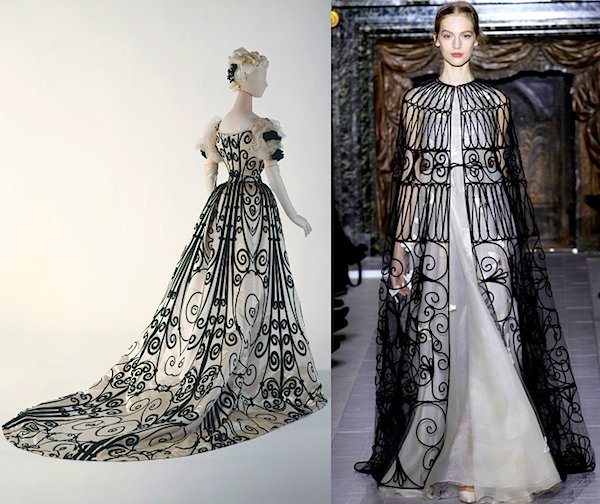 Valentino and Charles Worth - Paris Haute Couture Spring Summer 2013