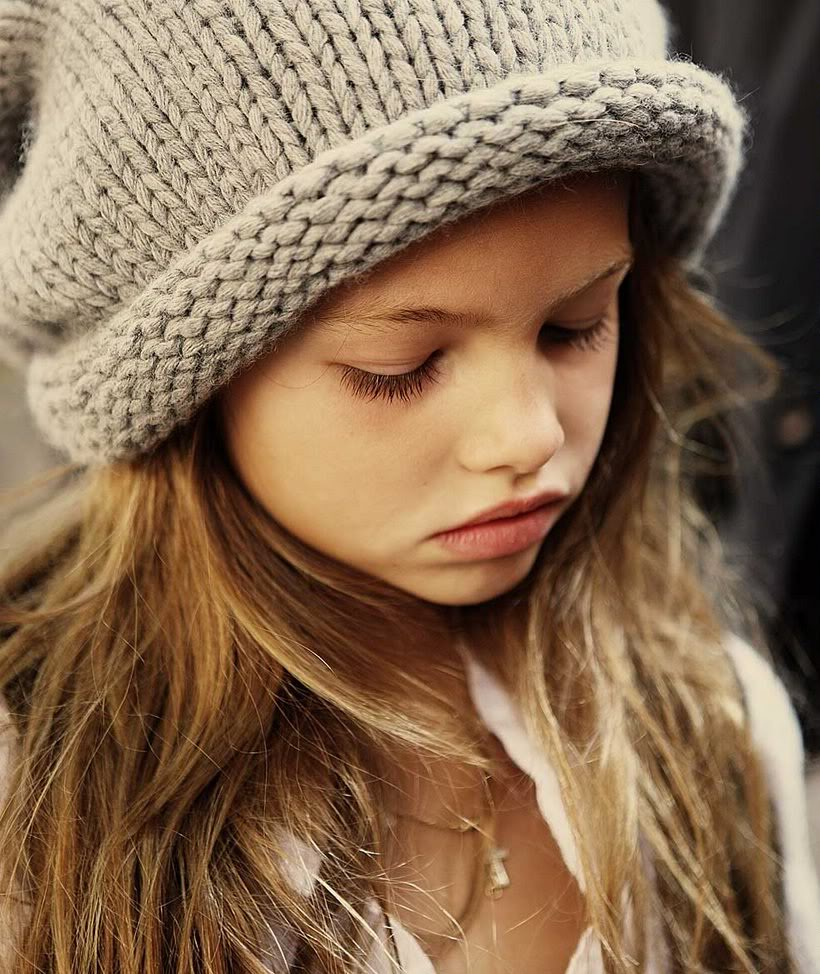 thylane lena-rose blondeau 10 year old french model