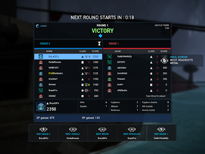 Ghost Recon Online - Round Stats