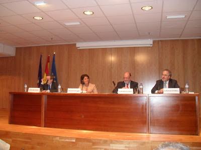 Eugenio Nasarre, Paloma Adrados, José María Gil-Robles y Francisco Fonseca