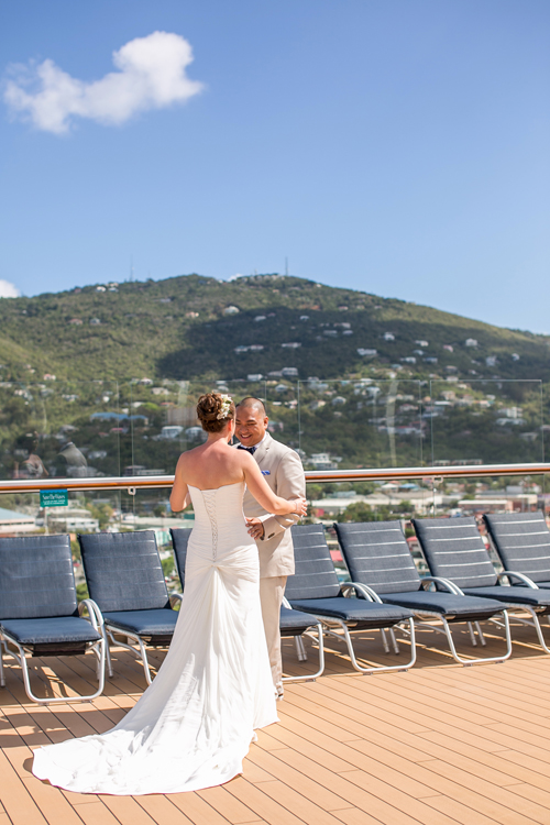 Island Bliss Weddings Cruise Ship Wedding Amp Reception Perfection