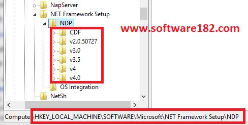 Cara Mengetahui Versi .NET Framework di Windows
