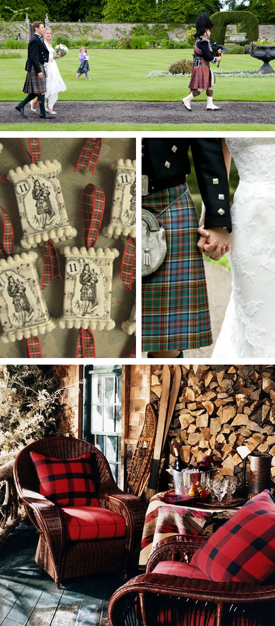 11 Pipers Piping Wedding Inspiration Board
