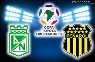 Atlético Nacional Vs Peñarol – Copa Libertadores