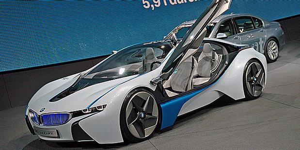 BMW i8 PROTOTYPE HD WALLPAPERS