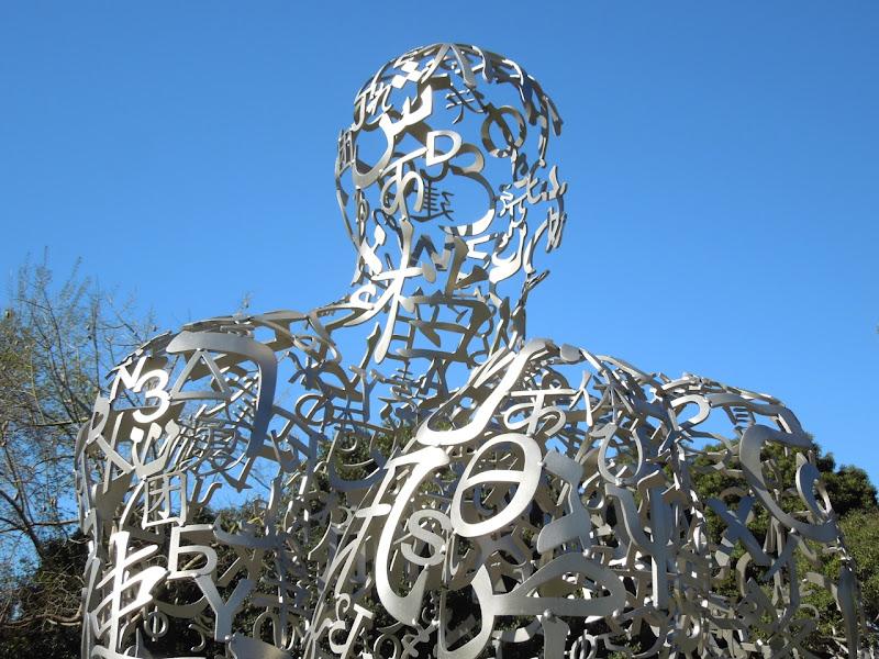 Endless V sculpture