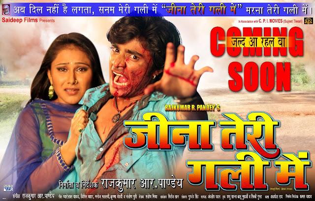 Jeena Teri Gali Me (2013) Bhojpuri Movie First Look Poster