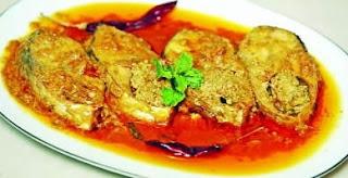 hilsha creamy curry
