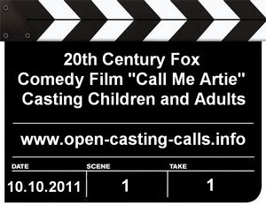 Atlanta Call Me Artie Us and Them Open Casting Call