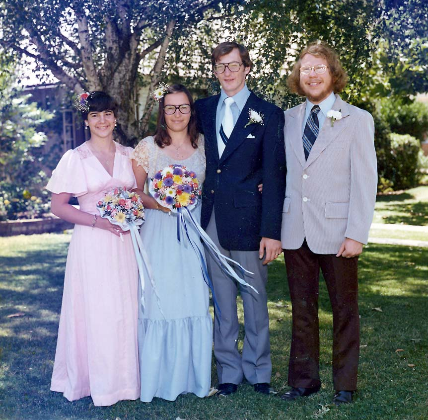 We were married on June 20, 1976 in Sacramento California.