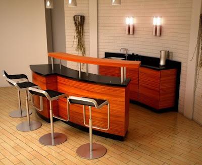 Desain Mini Bar untuk Rumah Minimalis