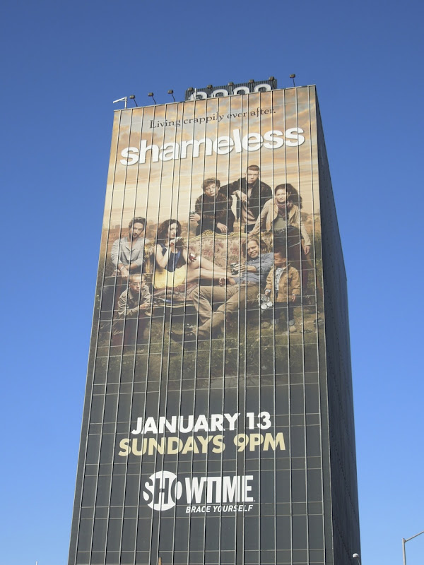 Giant Shameless season 2 billboard