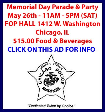 Chicago Police Marines Corp - MEMORIAL DAY PARADE & PARTY