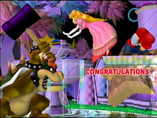 bowser melee classic congratulations