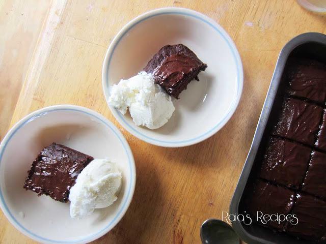 Peppermint & Buttermilk Dark Chocolate Cake by Raia's Recipes