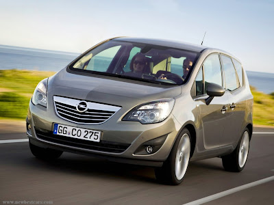 2011 Opel Meriva Wallpaper